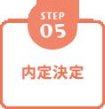 STEP5 内定決定